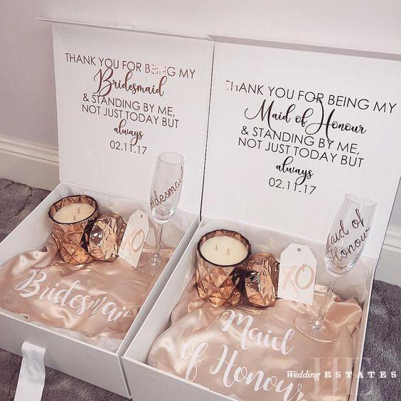 Bridesmaid Gift Ideas Wedding Estates