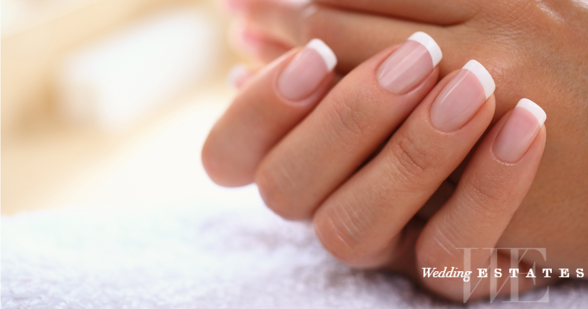 French Manicure Wedding Nail Trends Wedding Estates