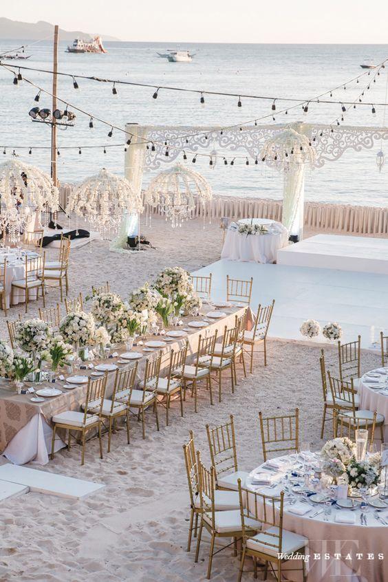 Simple Summer Wedding Decor For Outdoor Weddings | Wedding Estates