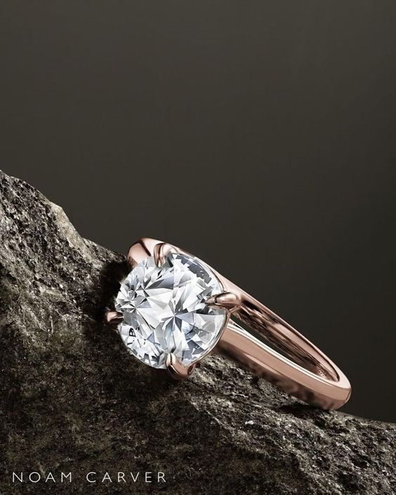 Simple Engagement Rings For Classy Ladies Wedding Estates