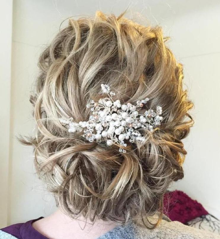 2019 Wedding Hairstyles for Medium Length Hair - Wedding Estates