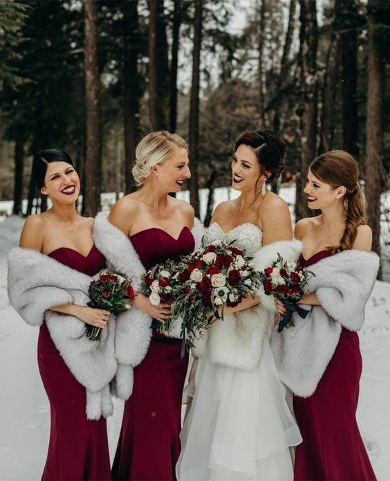 Winter Wedding Colors Wedding Estates